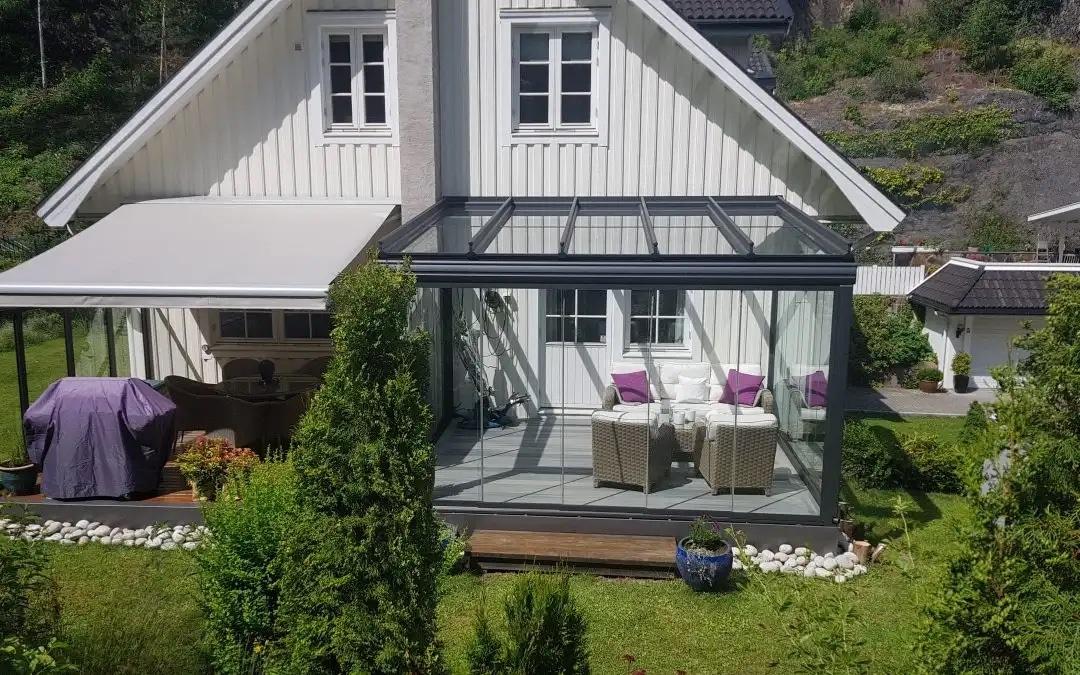 Tenk på solskjerming når du bygger terrasse